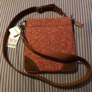 🌸 Tweed Rare Coach Crossbody 🌸